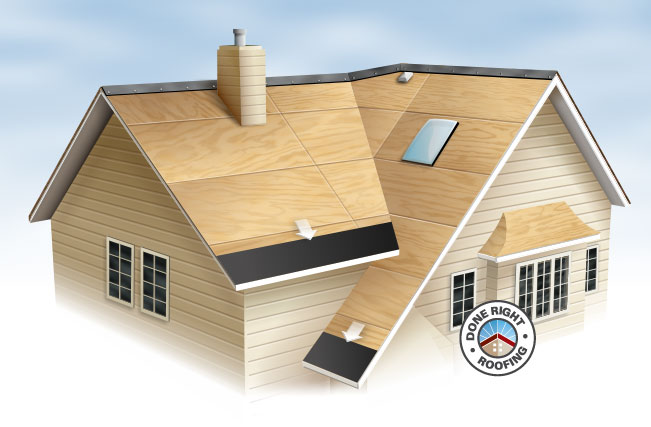 Eaves Roof Ice Dams Protection