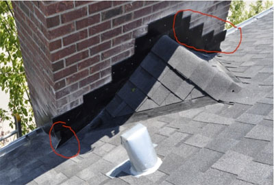 Chimney Flashing After