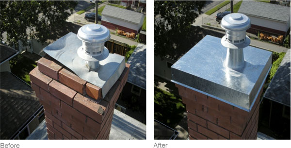 Skylight flashing before, during, and after
