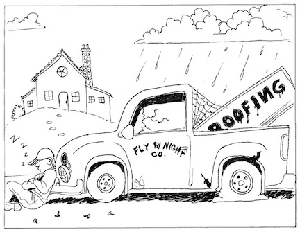 Fly-By-Night Calgary Roofing Company